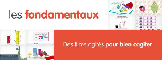 Canopé et les fondamentaux !! 400 films d'animation pour apprendre en s'amusant !