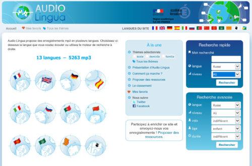 Audio Lingua !