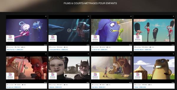 ESMA : Plus de 150 films d'animation en accès gratuit !