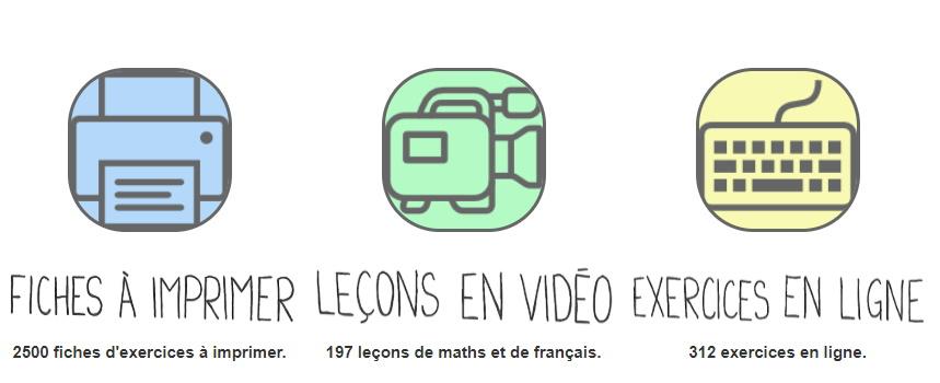 Professeur Phifix : découvrez un site complet d'apprentissage pour l'école élémentaire