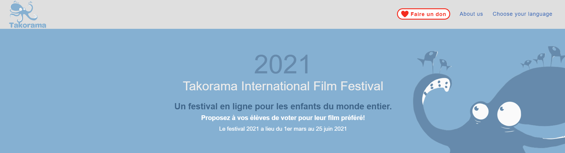 Festival TAKORAMA : Films pour Enfants